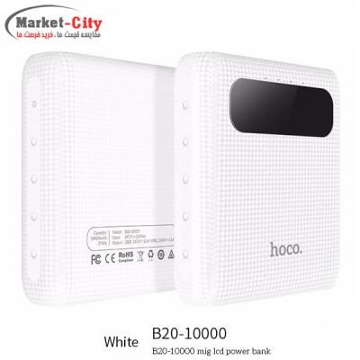 پاوربانک 10000MAh هوکو مدل MIGE B20