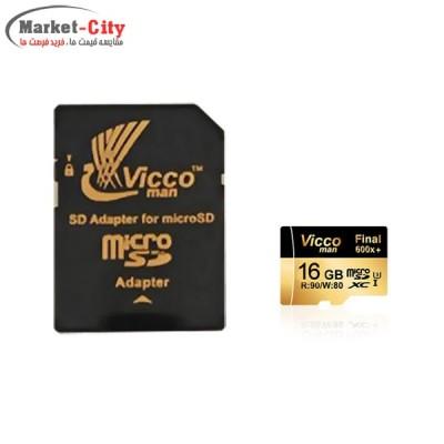 رم میکرو 16 گیگ Vicco Man 600X
