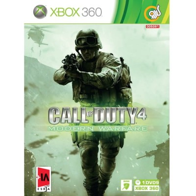 Call of Duty 4 Modern Warfare Enhesari XBOX 360