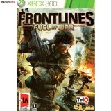 بازی Frontlines Fuel of War مخصوص Xbox 360