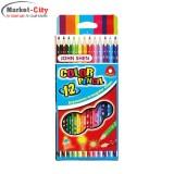 مداد رنگی 12 رنگ JOHN SHEN