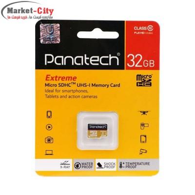رم میکرو 32 گیگابایتی Panatech کلاس 10