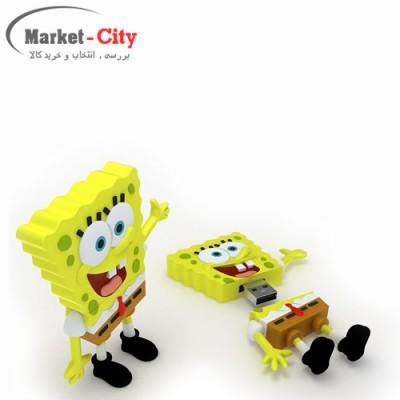 فلش 16 گیگ عروسکی مدل باب اسفنجی dinosaur 16GB Sponge Bob