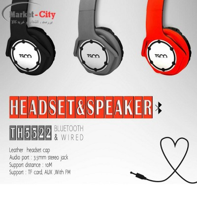 TSCO TH 5322 Bluetooth Stereo Headset