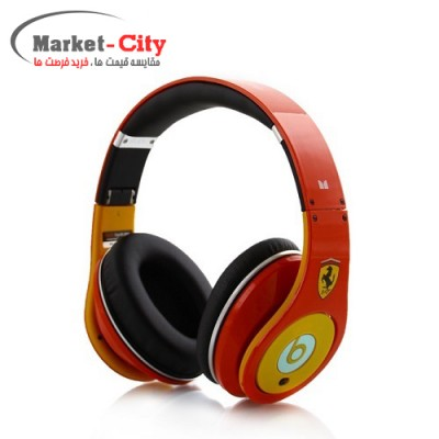 Beats Studio headphones Ferrari