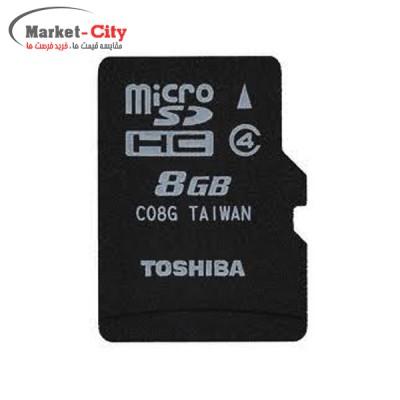Memory Card MicroSDHC 8GB Class 4 Toshiba