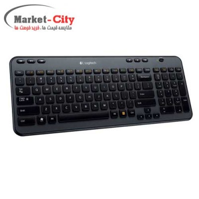 Logitech K360 Wireless Keyboard Black